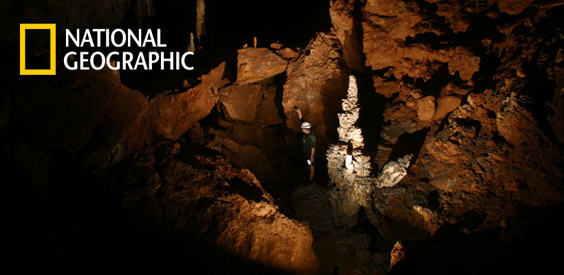 Ancient Maya Sacrificial Cave Revealed in Rare Footage