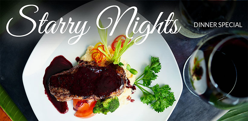 Starry Nights Dinner Special