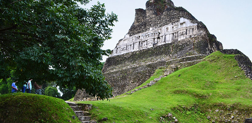 Largest Tomb in Belize Discovered at Xunantunich Maya Temple