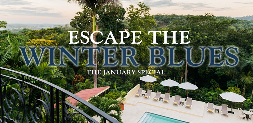 ESCAPE THE WINTER BLUES | THE JANUARY HOTEL DEAL
