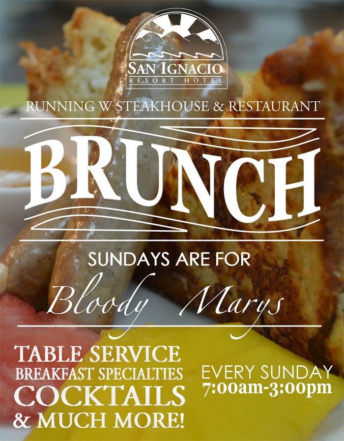 Sunday Brunch at Running W Steakhouse
