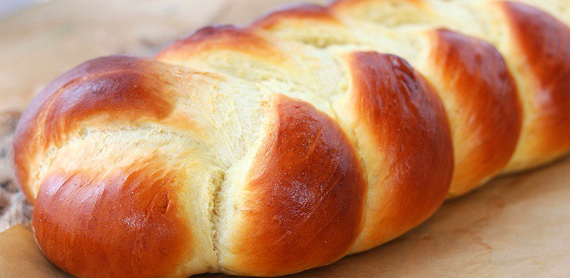 Holiday Sweet Braided Bread Recipe