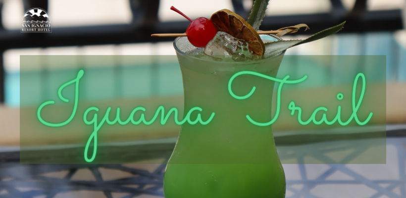 Belize Cocktails Iguana Trail