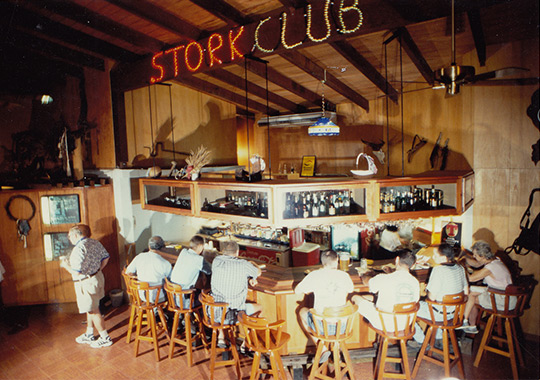 THE STORK CLUB OPENS